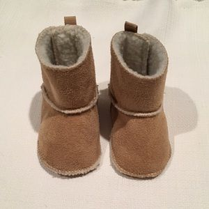 Baby Gap Infant Booties, 0-3 months